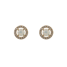 Lily and Rose - Miss Miranda Earrings White Opal