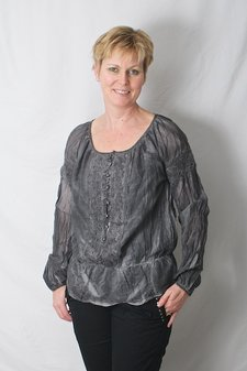ReMind - Helma Blouse Charcoal