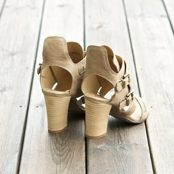 DKODE - Charisse Sandal Taupe/Champagne