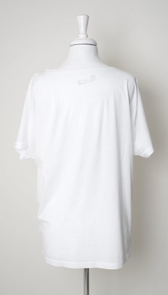 Mellow Rose - T-Shirt Gudrun Oversize White