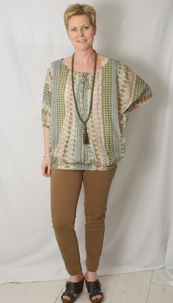 Repeat - Top Inka Khaki