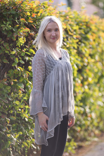 Sixty Days - Fiona Blouse Silver