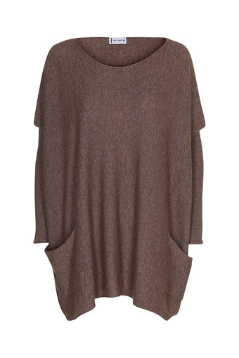 Tif-Tiffy - Bat Blouse Taupe
