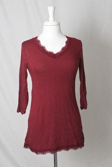 Repeat - Top Milla Dark Red