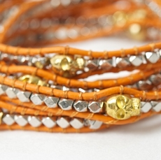 Unica of Sweden - Armband Katie Orange 30% REA