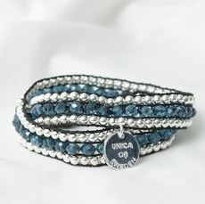 Unica of Sweden - Armband Korint Blue 50% REA