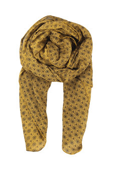 Black Colour - Neo Barok Scarf Mustard