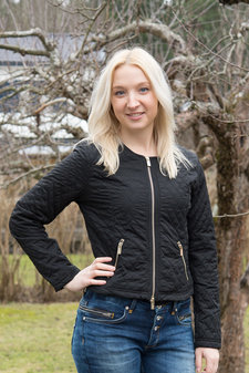 48 7 SWEDEN - Hanna Quiltjacket Black