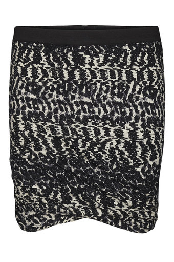 Second Female - Mugly Skirt Black/white