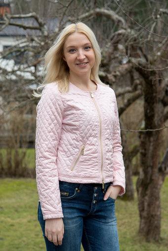 48-7 SWEDEN - Hanna Quiltjacket Light Pink