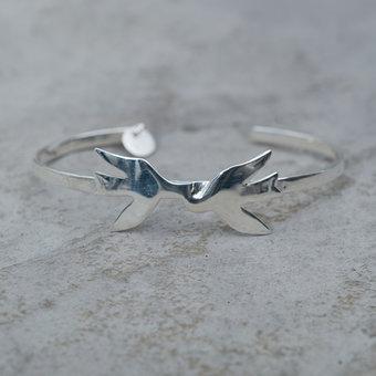 Syster P - Birdy Bracelet Silver