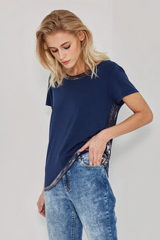 Denim Hunter - May T-shirt Dressblue