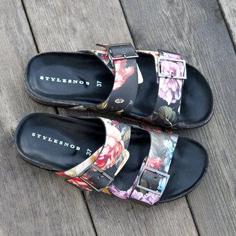 Stylesnob - Fleur Sandal Multi