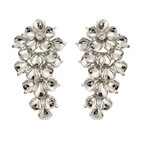 Ioaku - The Fleur Earrings Silver
