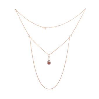Lily and Rose - Isabel Necklace Blush Rose