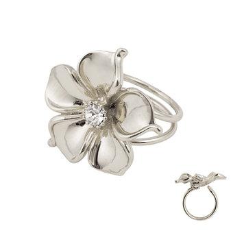 Ioaku - The Fleur Ring Silver