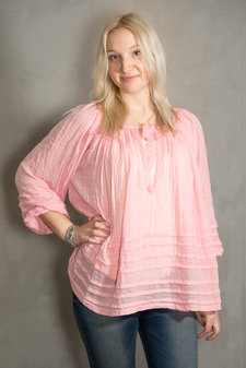 Circle of Trust - Mavis Top Cosmic Pink