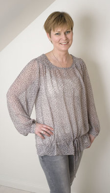 Repeat - Blus Anne Light grey