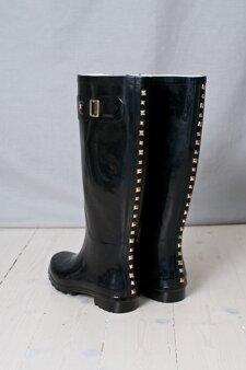 Stylesnob - Marina Rubberboots Black