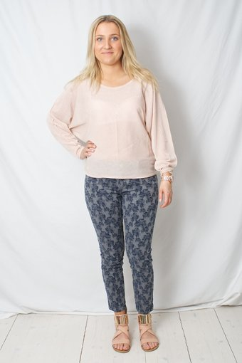 by Ti Mo - Effortless Sweater Rose
