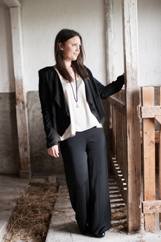 Vintage by Fé - April Trousers Black 50% REA