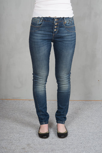 Culture - Thea Jeans Blue wash