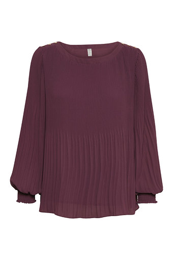 Culture - Cicely Blouse Prune