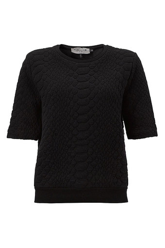 Pieszak - Turtle Structure Sweat Black