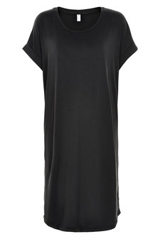 Culture - Kajsa T-shirt Dress Black