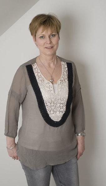 Pulz Jeans - Blus Afina Coriander