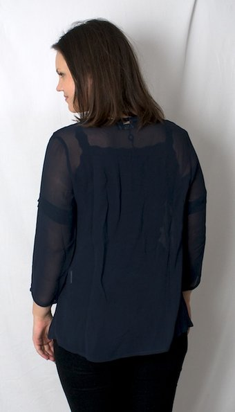 Pulz Jeans - Blus Afina Midnight Blue