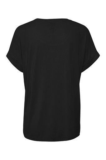 Culture - Kajsa T-shirt Black Wash