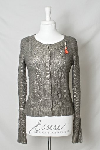 Culture - Douglas Deluxe Cardigan Grey