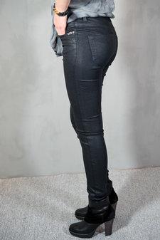 Pieszak - Diva Metallic Skinny Jeans Black