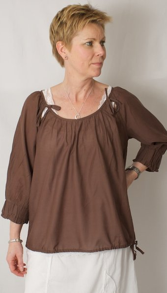 Cream - Blus Lisa Chocolate Mocka