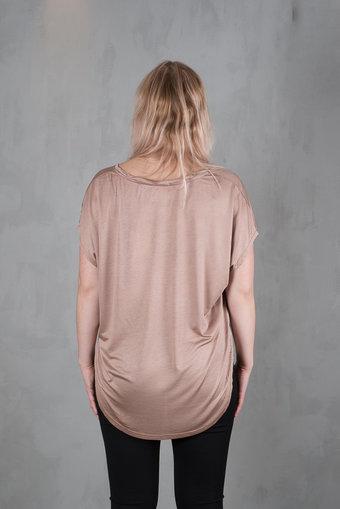 Isay - Nugga Viscose T-shirt Smoked Rose