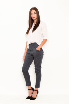 Vintage by Fé - Lara Trousers Steel