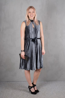 Culture - Ciliane Dress Zen Blue