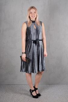 Culture - Ciliane Dress Zen Blue