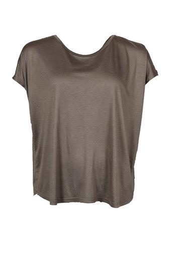 Isay - Nugga Viscose T-shirt Khaki