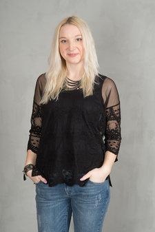 Mos Mosh - Lucy Blouse Black