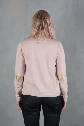 Culture - Annemarie Cardigan Rose Dust Melange