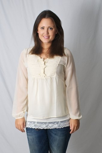 Repeat - Blouse Rosanna Creme