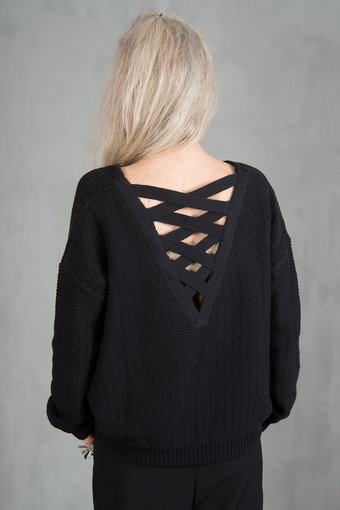 my Sunday Morning - Pauline Knit Top Black