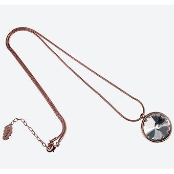 Ioaku -  Necklace The Zen Amulet 75 Rosegold / White