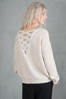 my Sunday Morning - Pauline Knit Top Beige