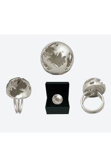 Ioaku - The Globe Ring Silver