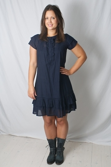 Andersen & Lauth - Dress Athena Navy 50% REA