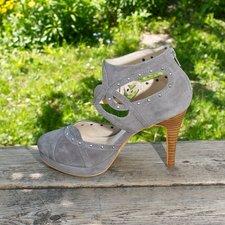 Stylesnob - Charlotte Shoe Mud grey