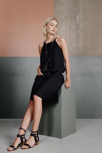 Plus Fine - Lizani Dress Black